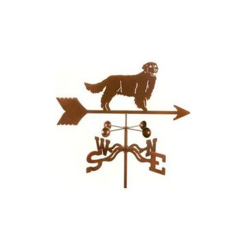 Ez Vane Golden Retriever Dog Weathervane With Deck Mount