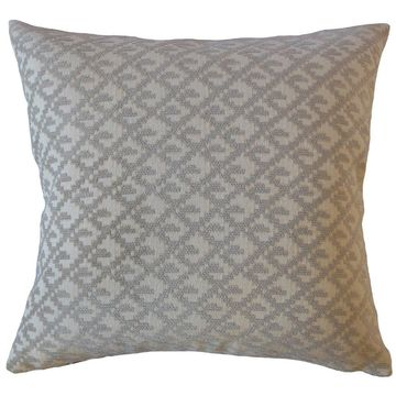 The Pillow Collection Tadewi Crewel Decorative Throw Pillow