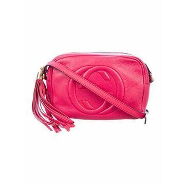 Small Soho Disco Crossbody Bag Pink