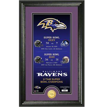 Baltimore Ravens Highland Mint Legacy 14