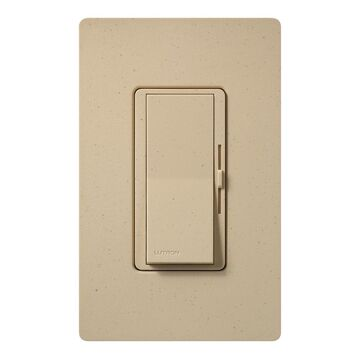Lutron Diva Single-Pole/3-Way Desert Stone Rocker Light Dimmer