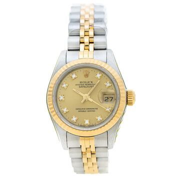 Rolex Lady DateJust 26mm Yellow gold and steel Watches