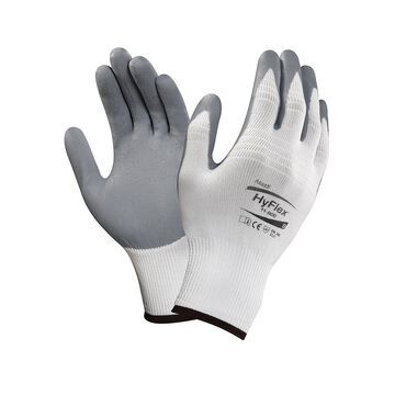Ansell 11-800-11 HyFlex Made With Kevlar Gloves, X-Small, Size 6, 12 Pairs