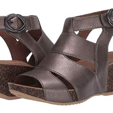 Dansko Sera (Pewter Nappa) Women's Shoes