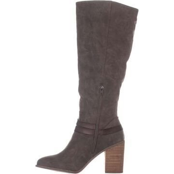 Madden Girl Womens Edrea Almond Toe Knee High Fashion