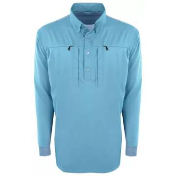 Drake Waterfowl Shield 4 Castaway Performance Long-Sleeve Shirt for Men