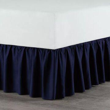 Martex Pleated Bedskirt, Blue, Queen