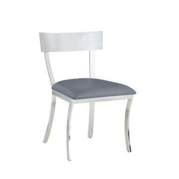 Chintaly Maiden Curved Back Side Chair, Set of 2