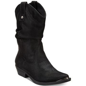 American Rag Womens Kallie Pointed Toe Mid-Calf Cowboy Boots