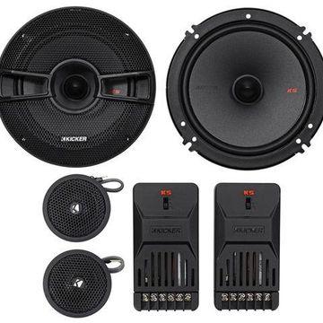 ''Kicker 44KSS6504 6.5'''' 250 Watt Car Audio Component Speakers Pair KSS650''