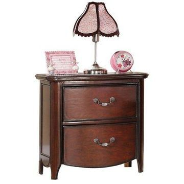 ACME Furniture Cecilie Nightstand, Cherry