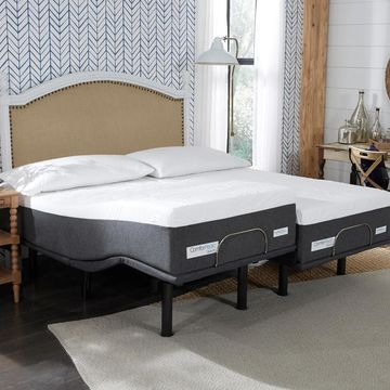 ComforPedic from BeautyRest 12-inch NRGel Mattress and Adjustable Bed Set (Queen)