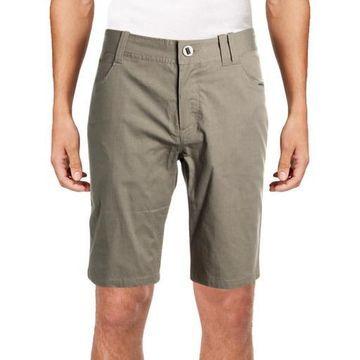NAU Mens Motil 5 Pocket Heatherd Durable Casual Shorts