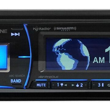 Alpine CDE-HD149BT Car CD/HD Radio Receiver with Advanced Bluetooth CDEHD149BT