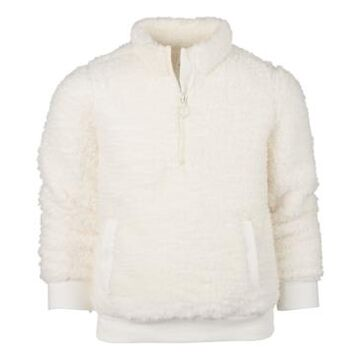 Ideology Toddler Girls Sherpa Quarter-Zip Jacket, Created for Macy's