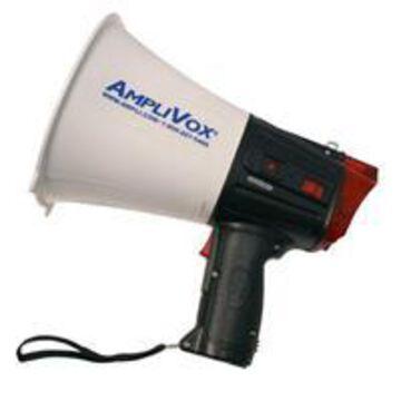 AmpliVox S604 Safety Strobe 10 watt Megaphone