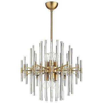 Cyan Design Quebec Pendant Light - Color: Silver - Size: Medium - 09223