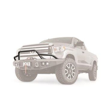 Warn 100472 Baja Pre-Runner Brush Guards; For Use w/Ascent Bumper PN[100915/100918/99777] Black; Ascent Bumpers And Baja Guards Are Sold Separately;