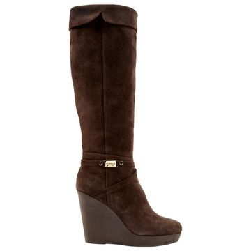 Le Silla Brown Leather Boots