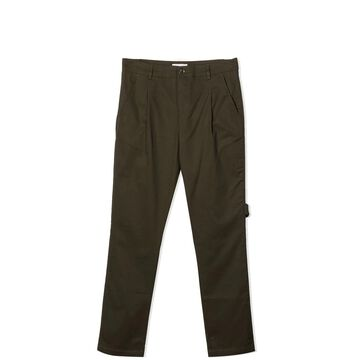 Paolo Pecora Military Green Trousers