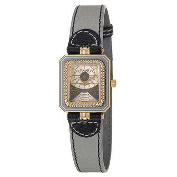 Rado Women's R84459305 'Florence' White Leather Watch