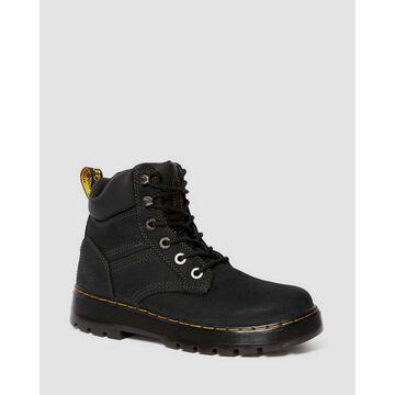 Dr. Martens, Men's Gabion Work Boots in Black, Size 14
