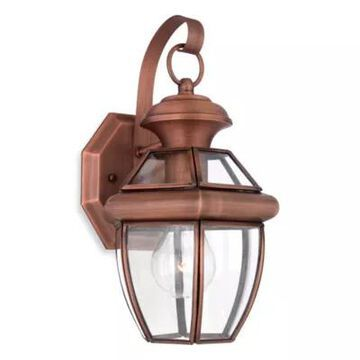 Quoizel Newbury Small 1-Light Outdoor Fixture with Aged Copper Finish