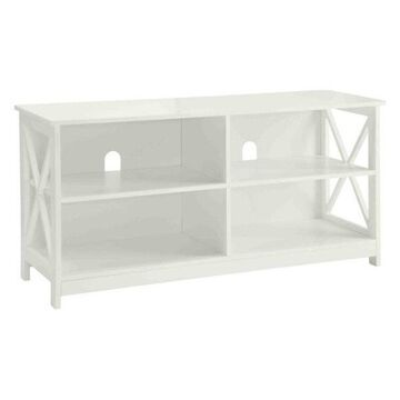 Pemberly Row TV Stand, White
