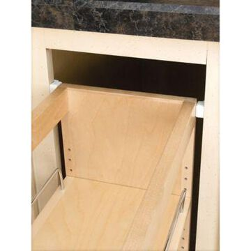 Rev-A-Shelf - 448-BC-14C - 14 in. Pull-Out Wood Base Cabinet Organizer