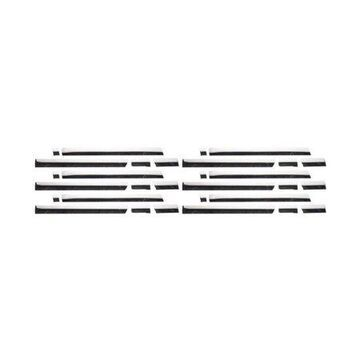 Putco 9751207 Rocker Panel Trim For Chevrolet Silverado 1500, Polished