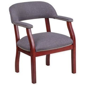Flash Furniture Side Chair in Grey