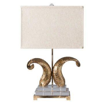 Surya Warwick Traditional Table Lamp