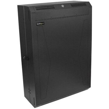 StarTech.com 6U Vertical Server Cabinet - Wall Mount Network Cabinet - 30 in. depth (rk630walvs)