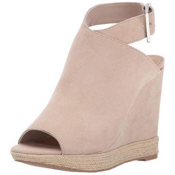 Call It Spring Women's Ioppolo Wedge Sandal, Bone, Size 8.5