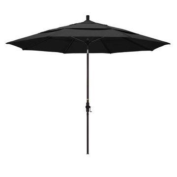 California Umbrella 11-ft. Sun Master Bronze Finish Patio Umbrella