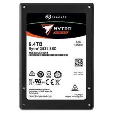 Seagate Nytro 3531 SAS SSD - 6.4TB Capacity Dual-port 12Gb/s 3D eTLC N