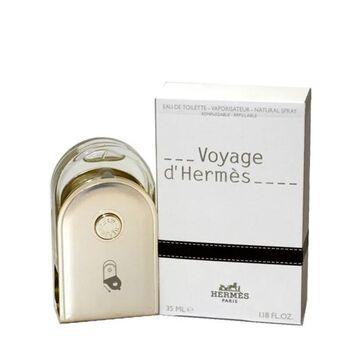 Voyage D'hermes Men's 1.18-ounce Eau de Toilette Spray Refillable