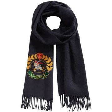 Burberry scarf with archive logo