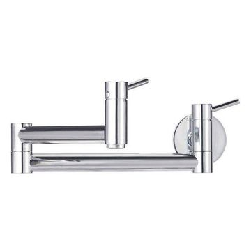 Blanco Cantata Wall Mounted Filler, Chrome