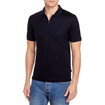 Boss Polston Slim Fit Zip Polo Shirt