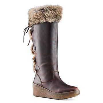 Cougar Women's Durand Rabbit Fur Trim Waterproof Tall Boots