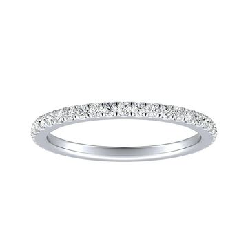Auriya 1/3ctw Diamond Wedding Band Platinum