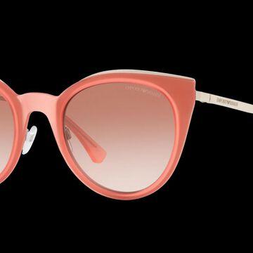 Emporio Armani Woman EA2063 - Frame color: Red, Lens color: Pink, Size 52-23/140