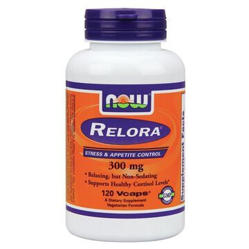 Relora 300 mg Now Foods 120 VCaps