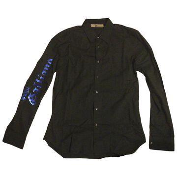 John Galliano \N Black Cotton Shirts