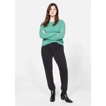 Violeta BY MANGO - 100% cashmere sweater pastel green - S - Plus sizes