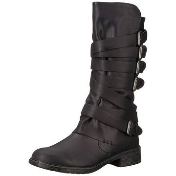 Report Womens Huck Almond Toe Mid-Calf Fashion Boots