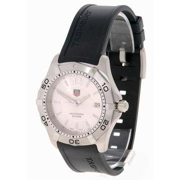 Tag Heuer Men's WAF1112.FT8009 'Aquaracer' Black Rubber Watch