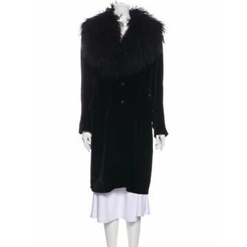 Faux Fur Coat Black