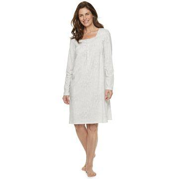 Women's Croft & Barrow Henley Nightgown